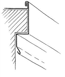 taksprång undersida