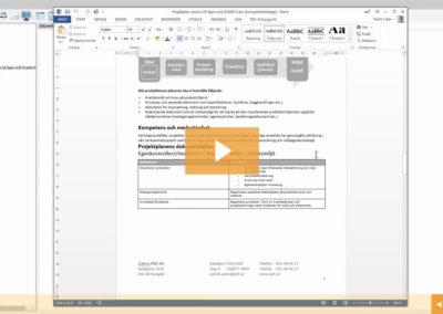 Lektion 28 – Ändra i skapade dokument