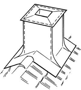 Skorsten i hinder överläggsplattor 2