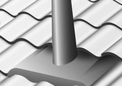 Stosar/mindre huvar i skopa överläggsplattor