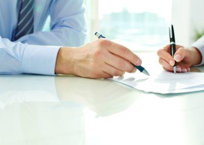 Steg 5 – Kontrakt